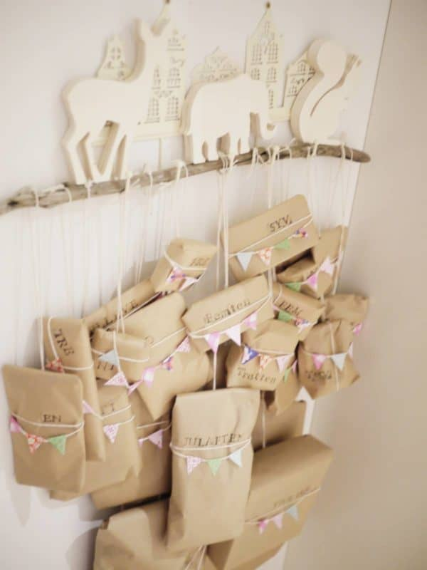 Paperbag Advent Calendar Do-It-Yourself Ideas Recycled Cardboard