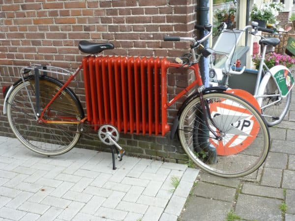 Radiator Bike Upcycled Bicycle Parts
