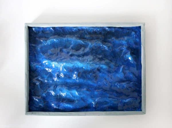 Waves Art Sculpture Recycled Art