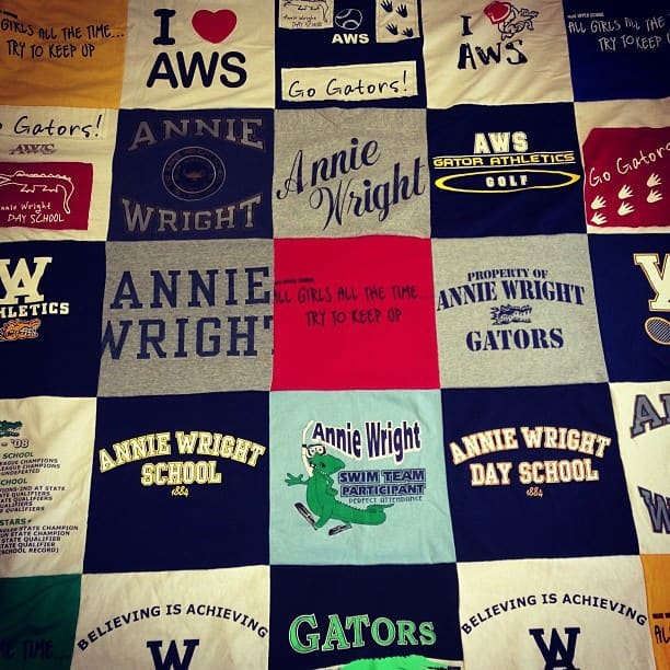 Turn Your Old T-shirts Into A Quilt T