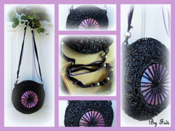 Upcycled Vhs Tapes into Purse Accessories Recycled Electronic Waste
