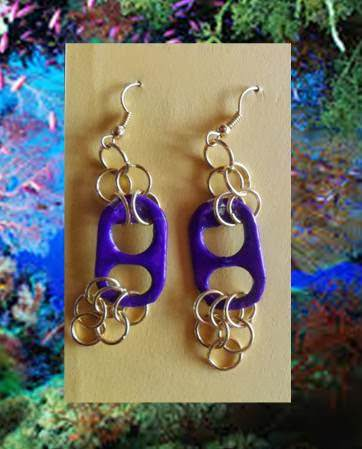 Recycled Earrings Upcycled Jewelry Ideas
