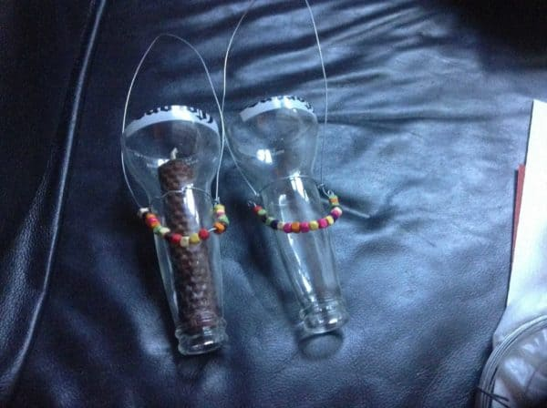 Candle and Tea Light Holders from Beer Bottles Do-It-Yourself Ideas Lamps & Lights Recycled Glass