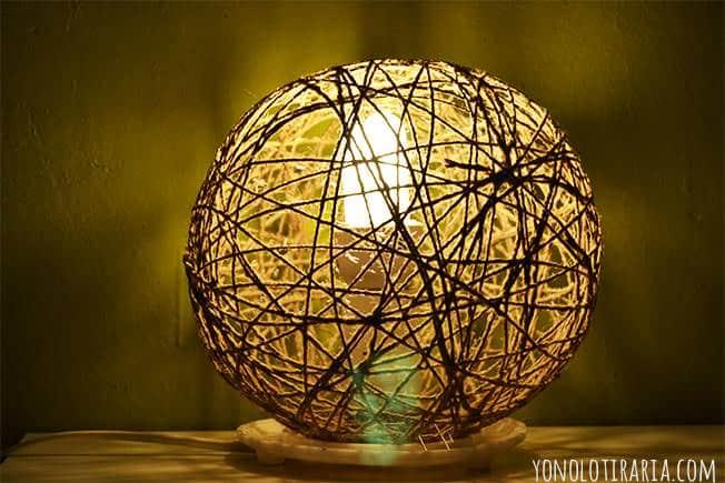 Diy random light lamp recyclart for Random diys