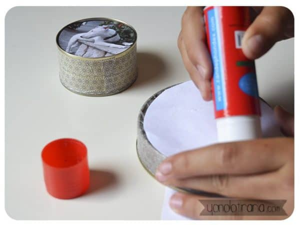 Diy: Make a Photo Frame from Upcycled Tuna Cans Do-It-Yourself Ideas
