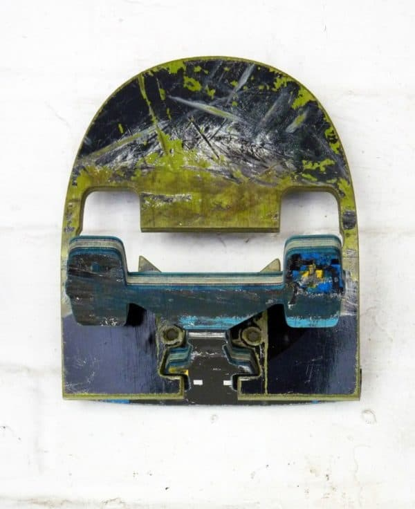 Recycled Skateboards Wall Hook Accessories Recycled Sports Equipment Wood & Organic