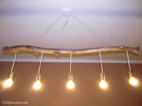 Drfitwood Branch into Chandelier Lamps & Lights
