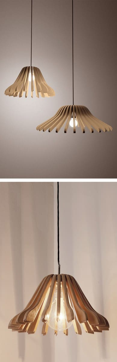 Lampshades From Reused Coat Hangers Lamps & Lights