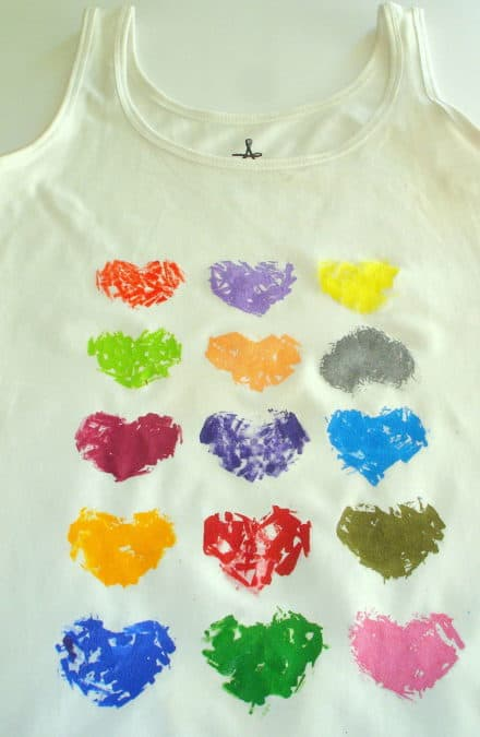Stamping a T-shirt / Estampando Una Camiseta