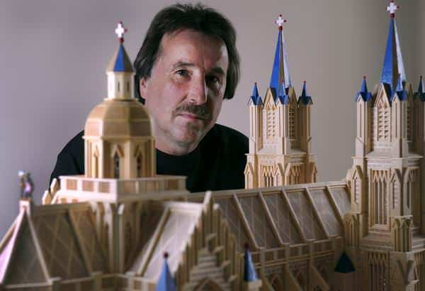 Artist, Architect, Builder: Paul Marti, the Master of Matchstickshands Recycled Art