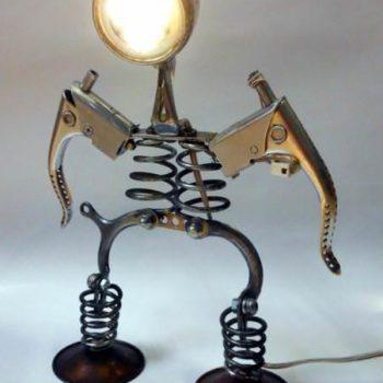 Bicycle part lamps by ilmecca produzioni