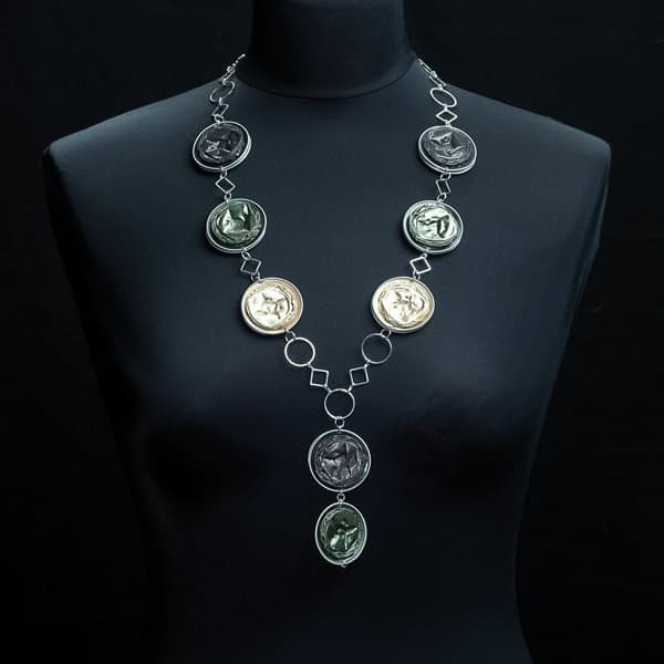 10 Jewelry Ideas Made from Recycled Nespresso Capsules Upcycled Jewelry Ideas