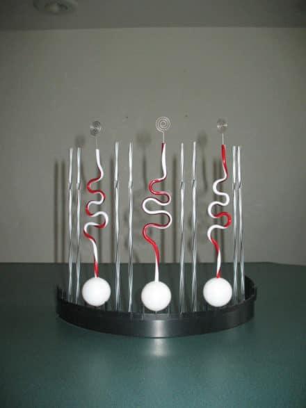 """Wiggles"""" Tabletop Sculpture"""