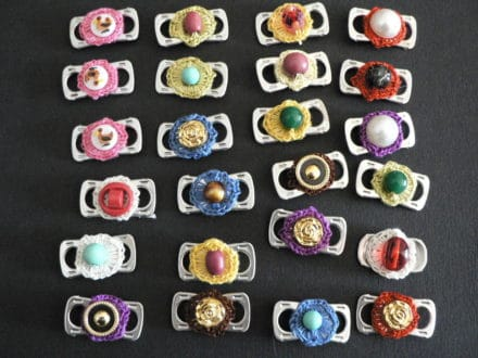 Upcycled Clips Jewelry and Fashion Accessories