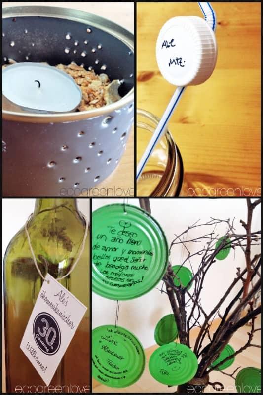 Eco Green Birthday Decorations Do-It-Yourself Ideas
