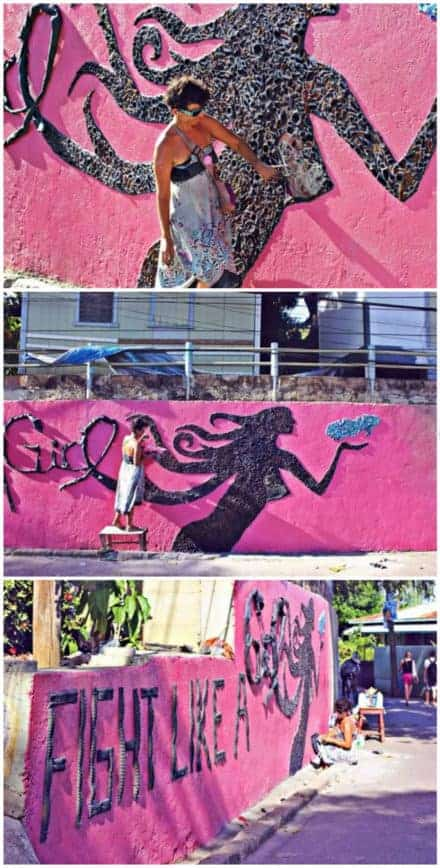 Mural Art for Breast Cancer Awareness