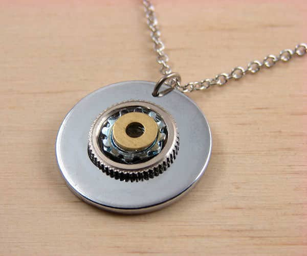 Wearable Hardware Jewelry Upcycled Jewelry Ideas