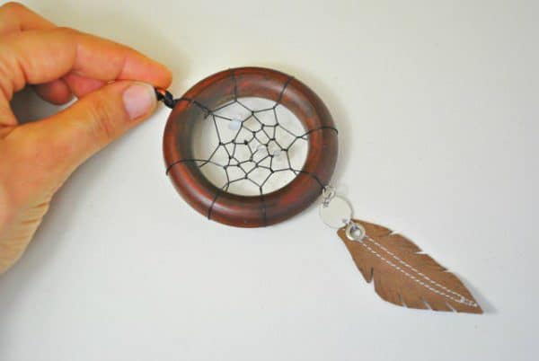 Upcycled Mini Dreamcatchers Wood & Organic