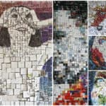 Three-dimensional Recycled Collages