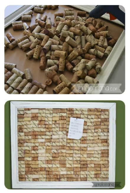 Diy: Framework With Corks