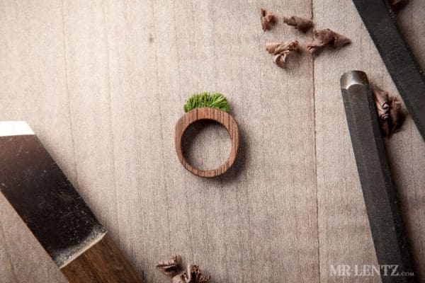 Eco-friendly Moss & Grass Jewelry Upcycled Jewelry Ideas Wood & Organic
