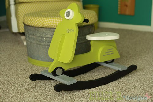 Diy: Kids Vespa Rocking Chair Do-It-Yourself Ideas