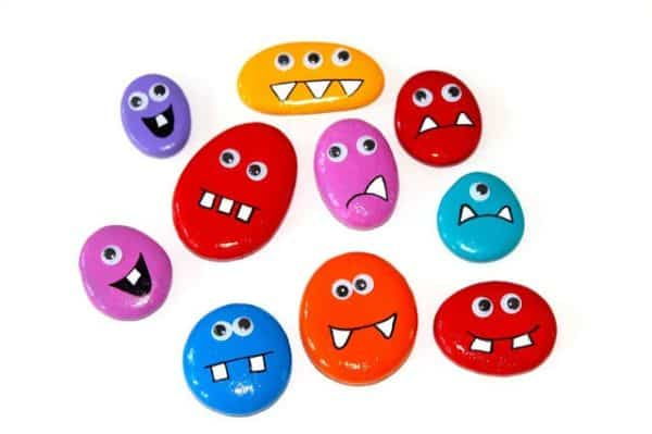 Diy: Rock Monster Magnets Do-It-Yourself Ideas