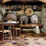 Repurposed Wine Barrels Parquet