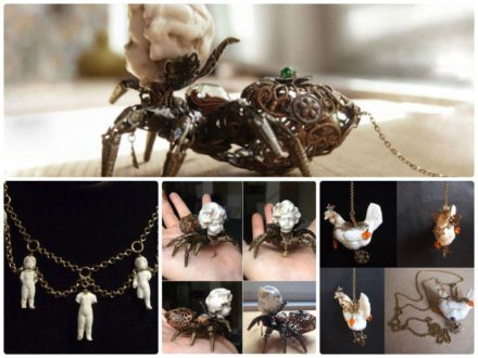 Old Porcelain Jewelry