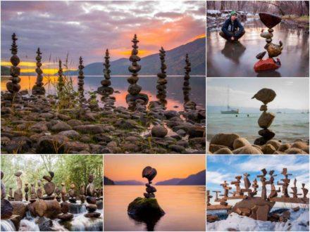 Gravity Glue: The Art of Balancing Rocks