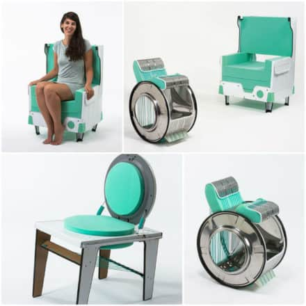 Diy: Washing Machine Chairs