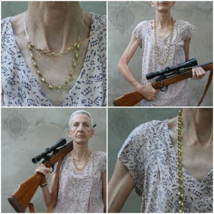 Bullet Chain Necklace