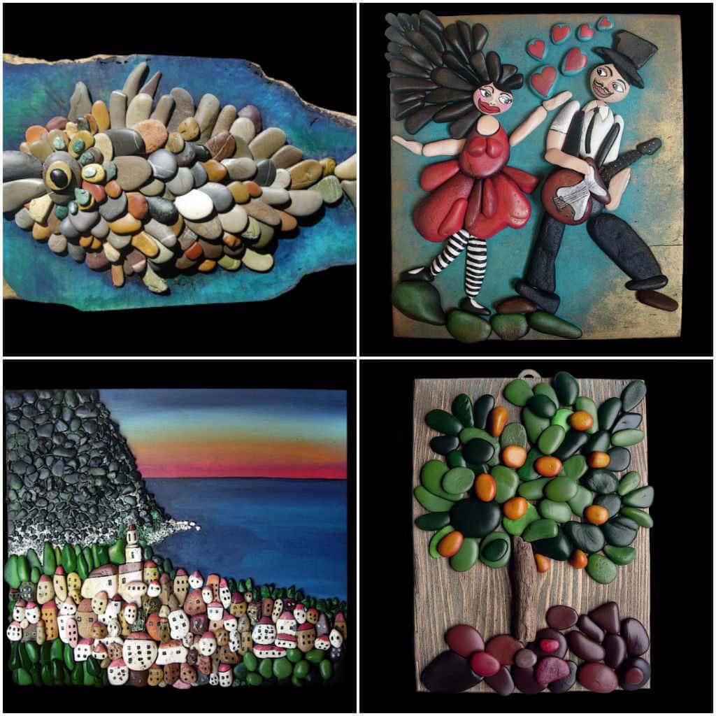 Pebble Art • Recyclart
