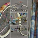 Recycled Kid Art Bike