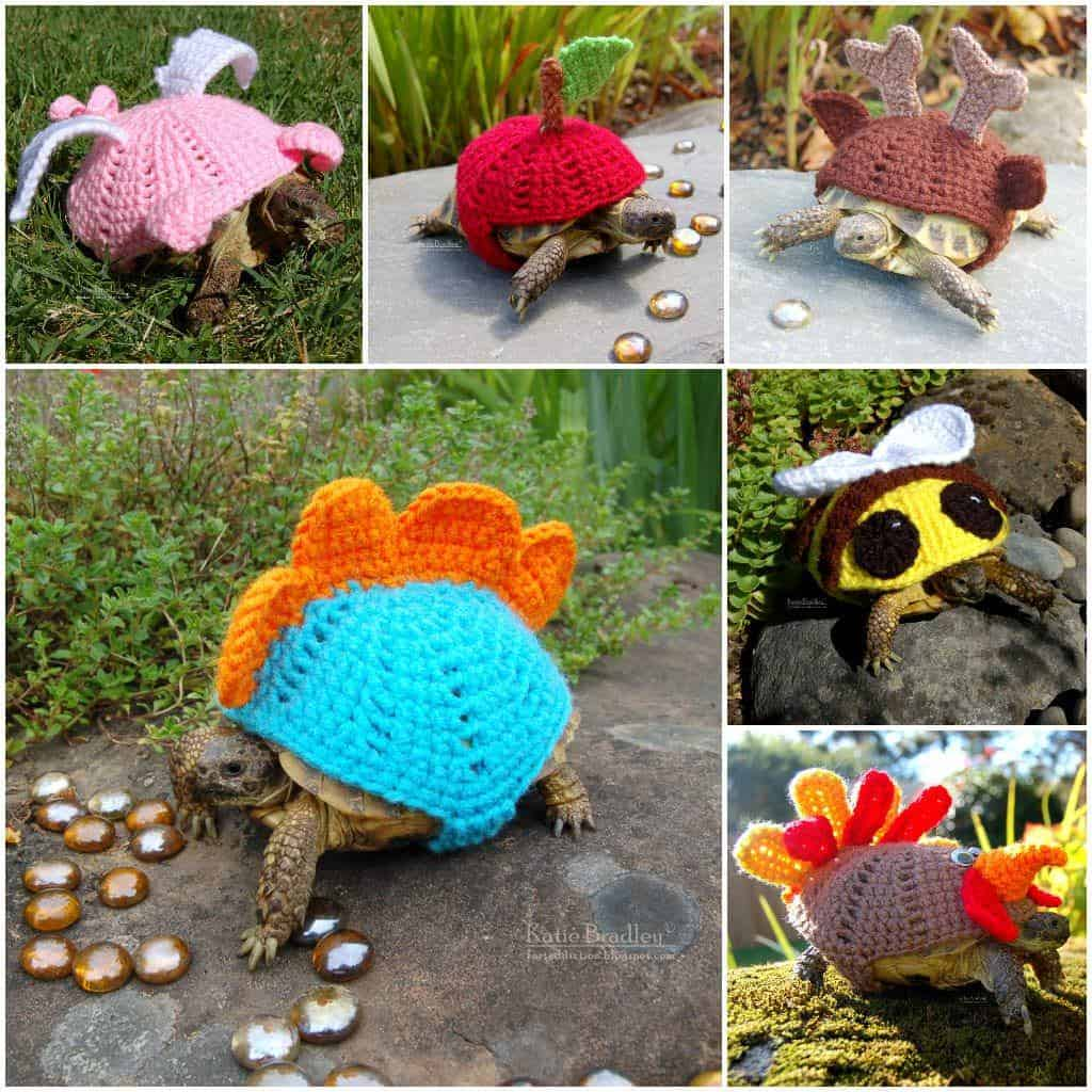 Crocheted Tortoise Cozy • Recyclart