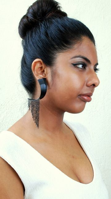 Vinyl Record Earrings Upcycled Jewelry Ideas