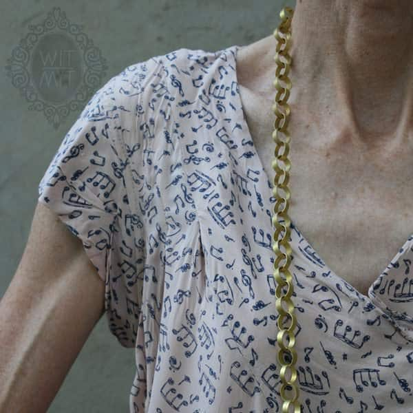Bullet Chain Necklace Upcycled Jewelry Ideas