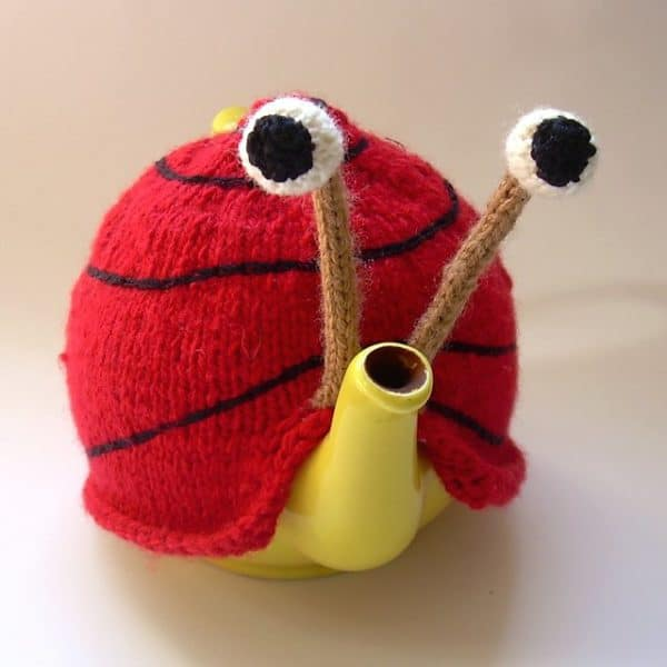 Snail Teapot Cosy Patterns Accessories Do-It-Yourself Ideas