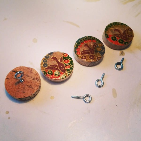 Wine Cork Buttons Do-It-Yourself Ideas Recycled Cork