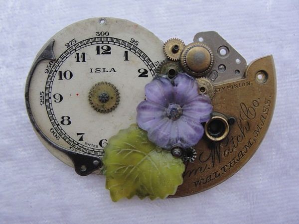 Jewelry Made from Old Watches Upcycled Jewelry Ideas
