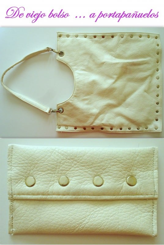 Recycle an Old Bag Accessories Do-It-Yourself Ideas