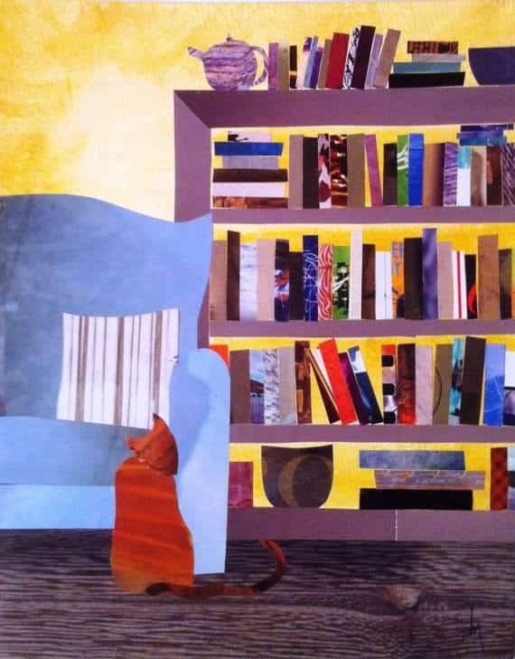 BooksChairCat