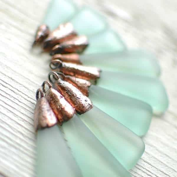 Recycled Glass Bottle Jewelry by Revetro Recycled Glass Upcycled Jewelry Ideas