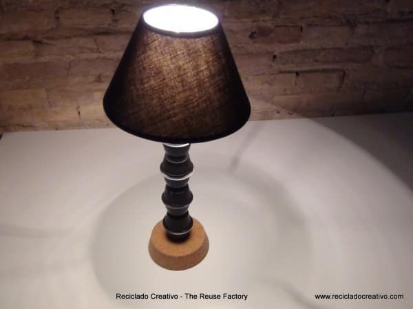 Upcycled Coffee Capsules Lamp Do-It-Yourself Ideas Lamps & Lights