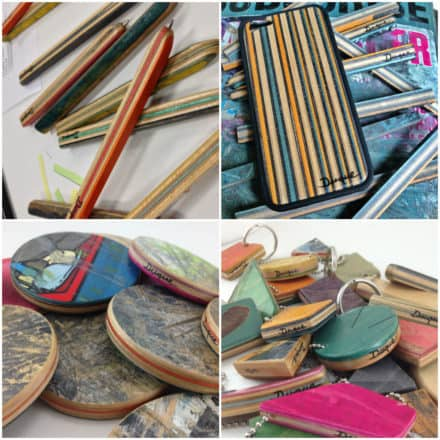 Recycled Skateboards Accessories