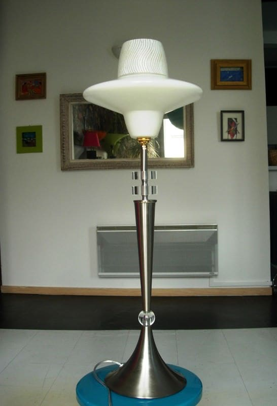 Metal Lamps Made ​​of Recycled Materials Lamps & Lights