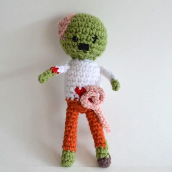 Zombie Crocheted Pattern Do-It-Yourself Ideas