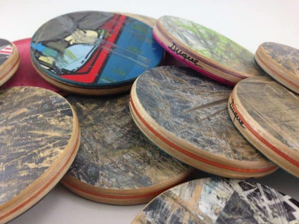 Recycled Skateboards Accessories Do-It-Yourself Ideas Recycled Sports Equipment