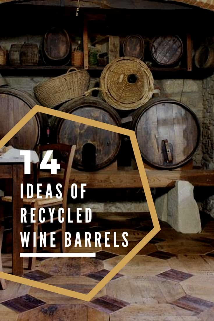 14 Gorgeous Ideas of Recycled Wine Barrels • Recyclart