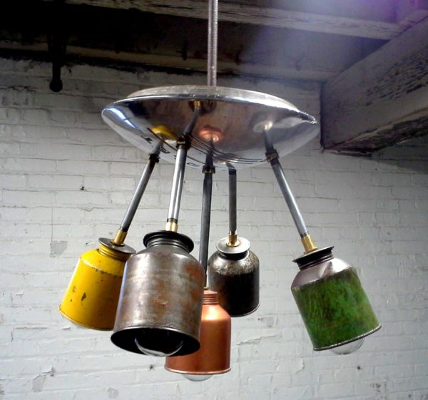 Vintage Industrial Lighting with a Modern Twist Lamps & Lights